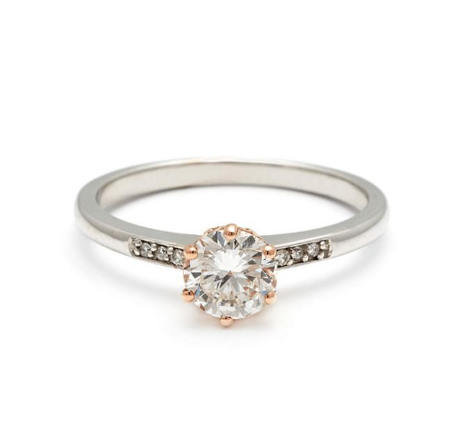 Hazeline Solitaire Ring