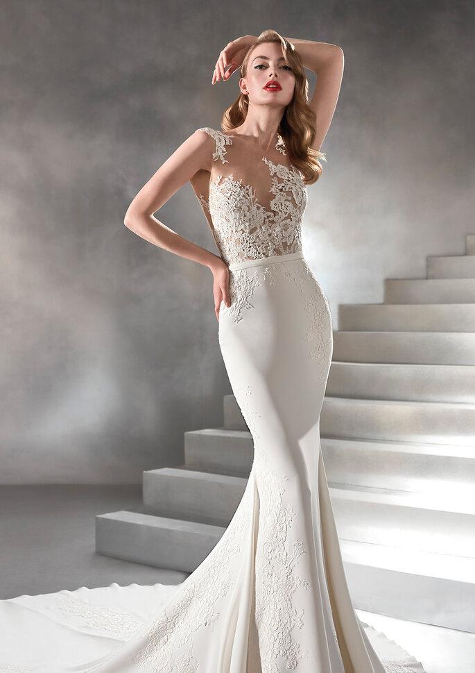 vestido de noiva pronovias vicenta-d