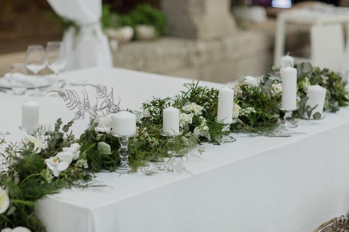 Decoração de mesa por Bloom Creative