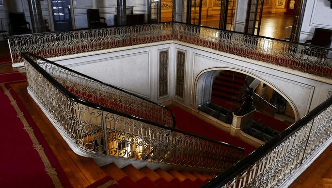 Escadarias do Palácio Ateneu Comercial - Porto