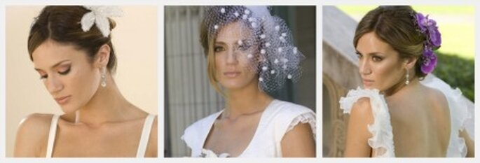 Peinados de novia en Paula Chaves