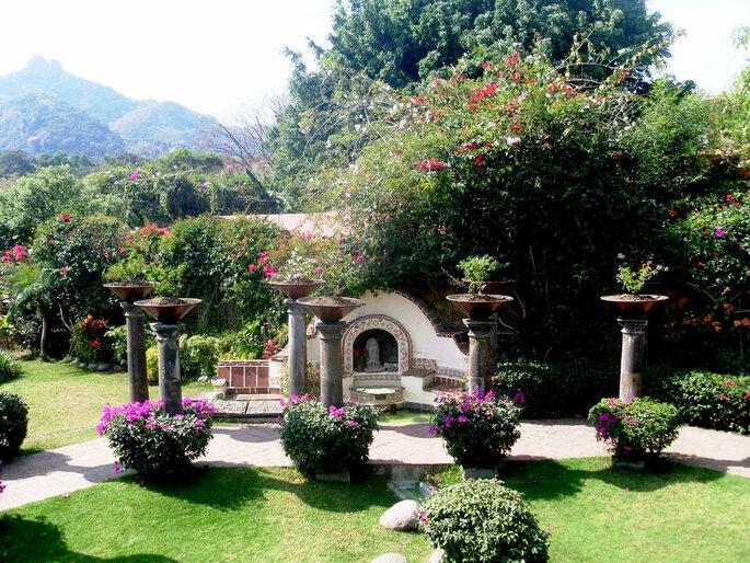 Hotel en Tepoztlán Casa Bugambilia hoteles para bodas Tepoztlan