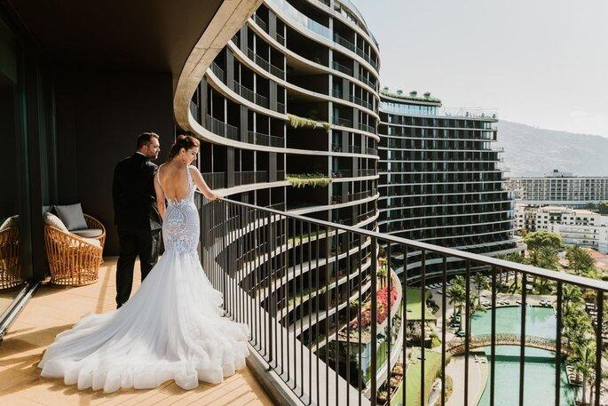 Hotel Savoy Palace. Noivos no hotel. Casamento no hotel.