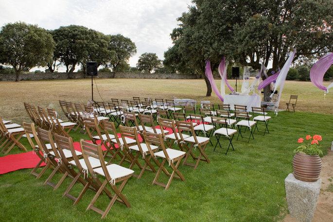 4 detalles de una finca de ensue o para casarte en madrid for Jardin de la vereda