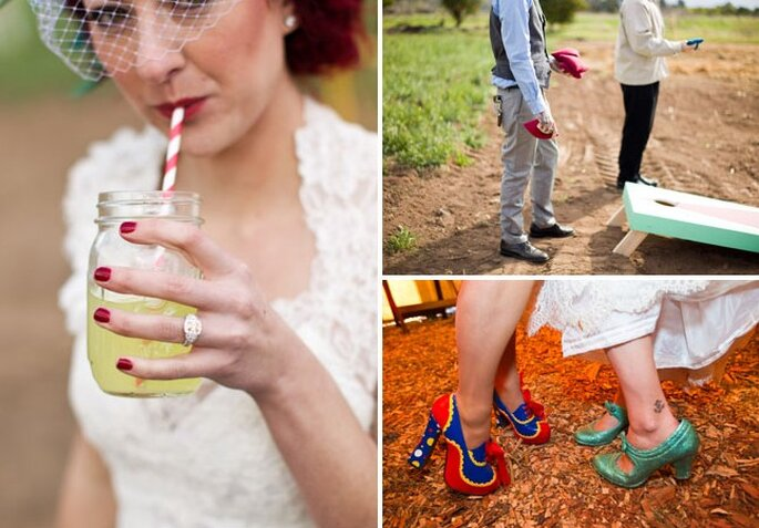 Foto di Cameron Ingalls via Green Wedding Shoes