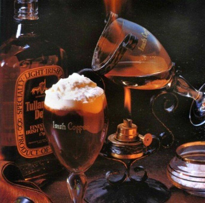 Irish Coffee está en el grupo de los cocteles clásicos. Foto:Spirits Martini Company