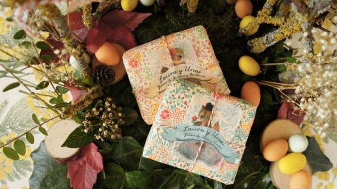 Jabones orgánicos personalizados. Foto: Jabones Olivia