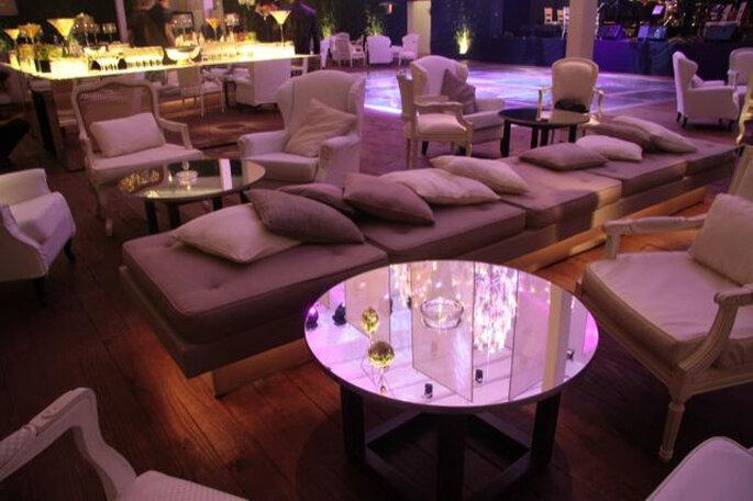 Inspiraci n para incluir el color rosado en tu boda - Foto deco lounge ...