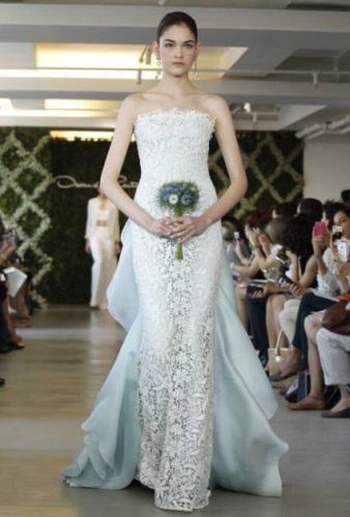 Oscar de la Renta Spring 2013 wedding dress