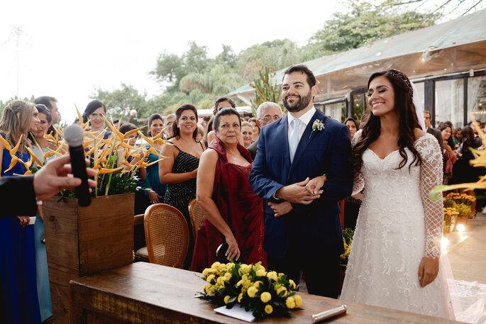 noivos cerimônia