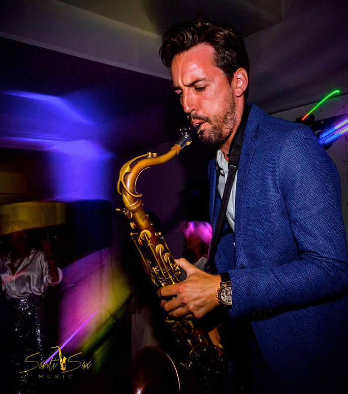Santi Sax Music música en vivo Madrid