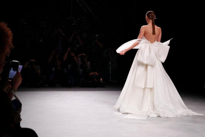 défilé robes de mariées Valmont Barcelona Bridal Fashion Week