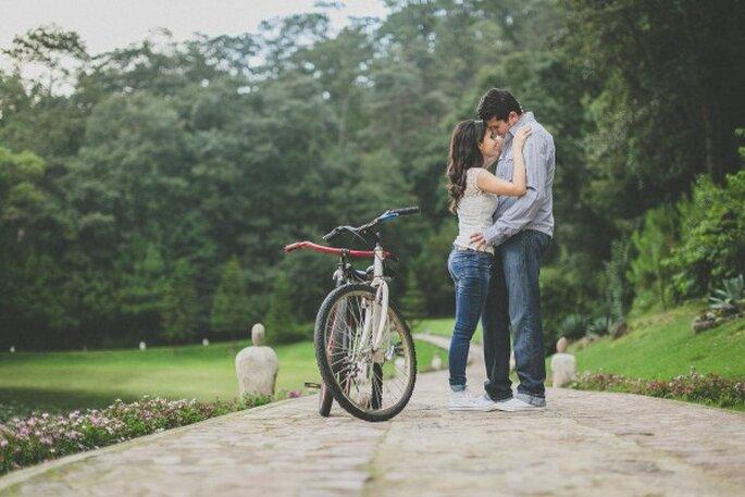 Sesión de fotos pre boda de Martha y Edgar en Sierra Lago Resort & Spa - Foto Pepe Orellana