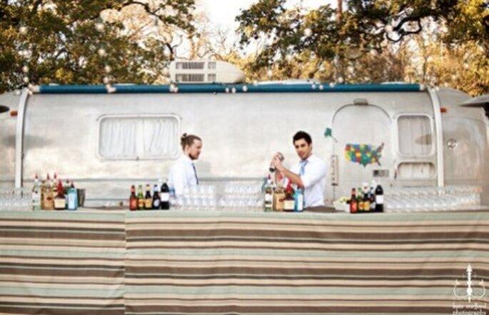 Trailers de bebidas para tu casamiento de verano