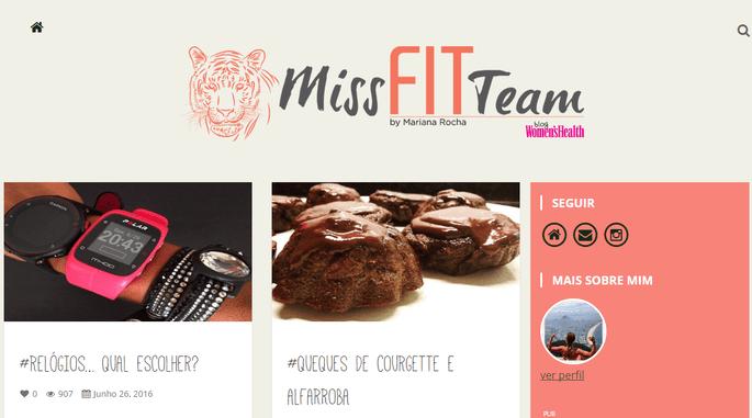 Miss Fit Team by Mariana Rocha