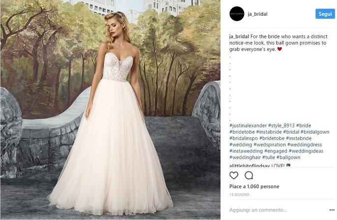 Foto via Instagram @ja_bridal