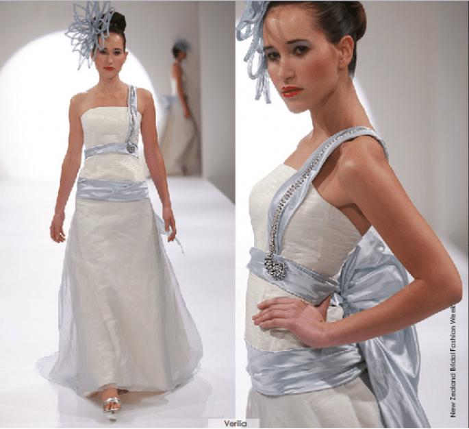 Vestido Verilia, colección 2012 Rubén Perlotti