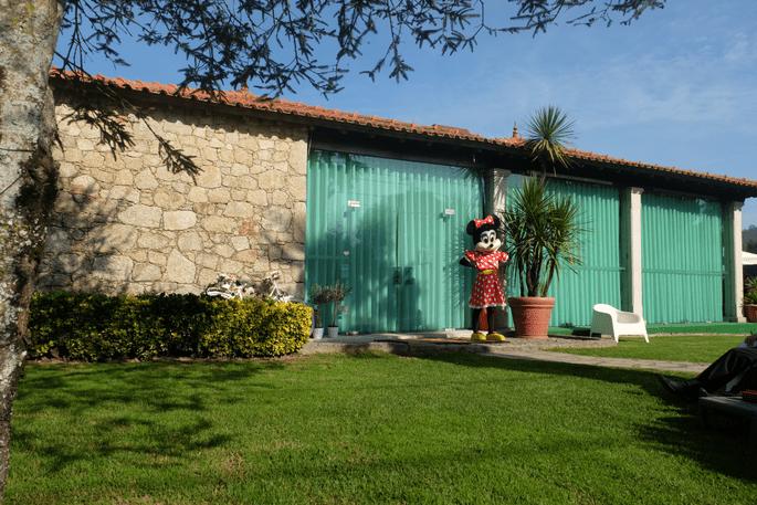 Quinta São Miguel de Arcos. Fachada do espaço.
