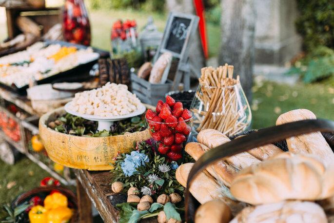 Catering de boda Madrid - Aldovea Catering