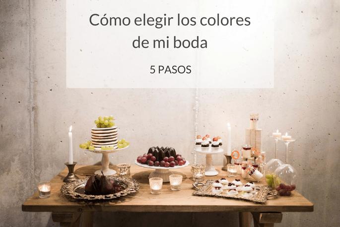 Cómo elegir los colores de mi boda en 5 pasos
