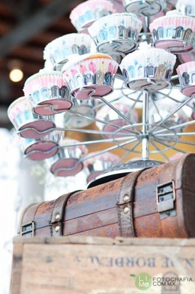 Cupcakes gourmet. Foto de LiMe Fotofrafía.