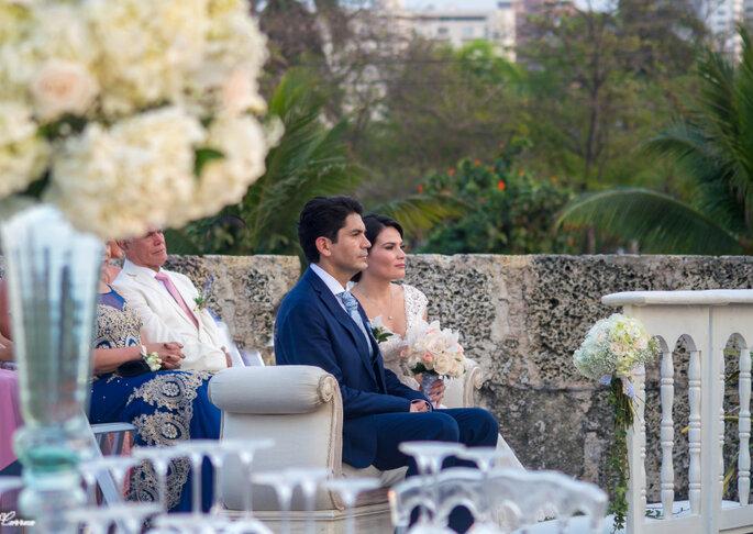 Bodas & Glamour ceremonia aire libre cartagena