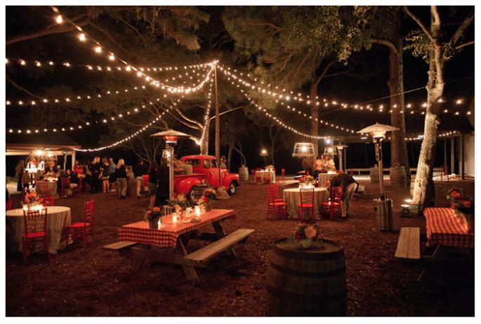 Tendencias en iluminación para bodas - Foto Kellie Kano
