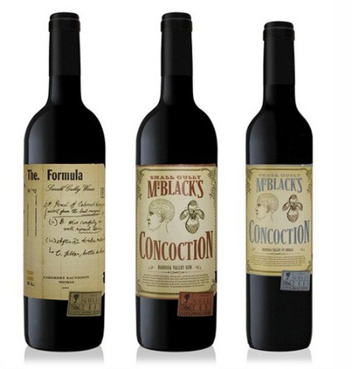 Botellas de vino piccolo resulta un excelente regalo. Foto: deklimke