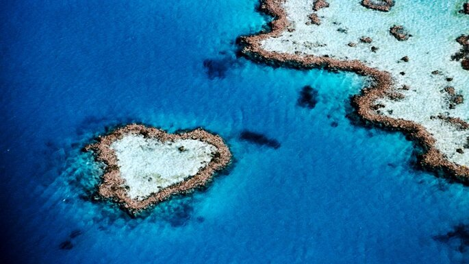 Heart Island Queensland. Foto: Vacanze Australia