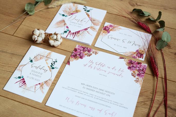 Paper Studio by Zankyouinvitaciones de boda