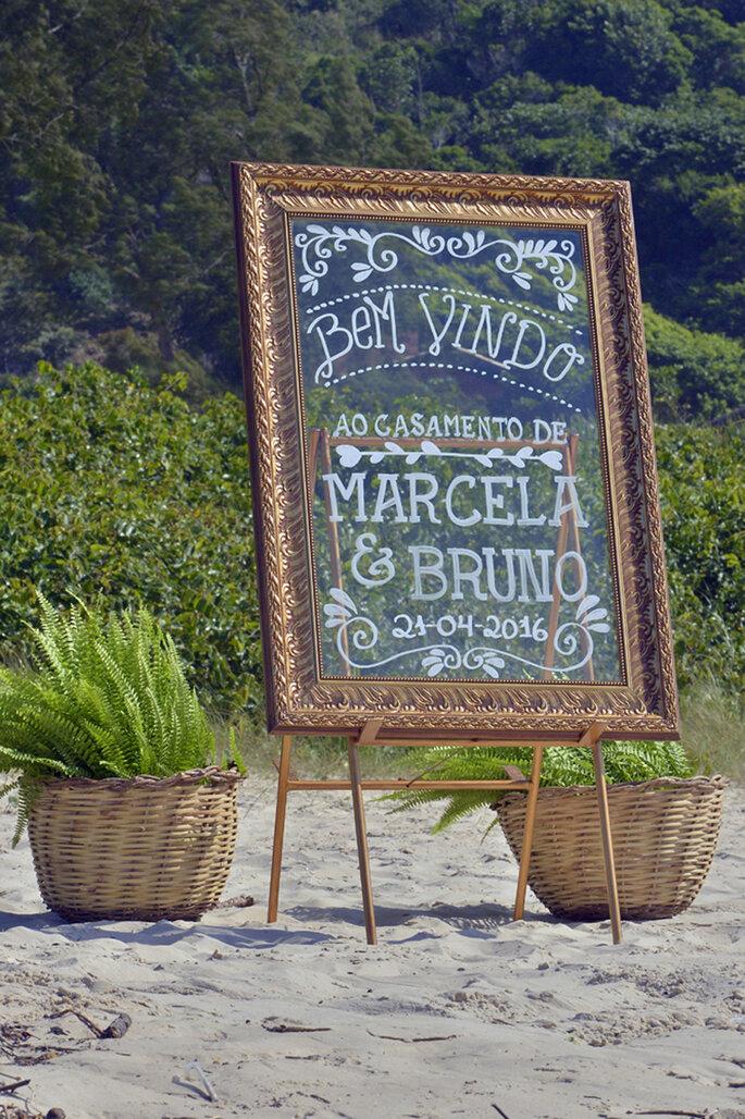 decoração casamento na praia