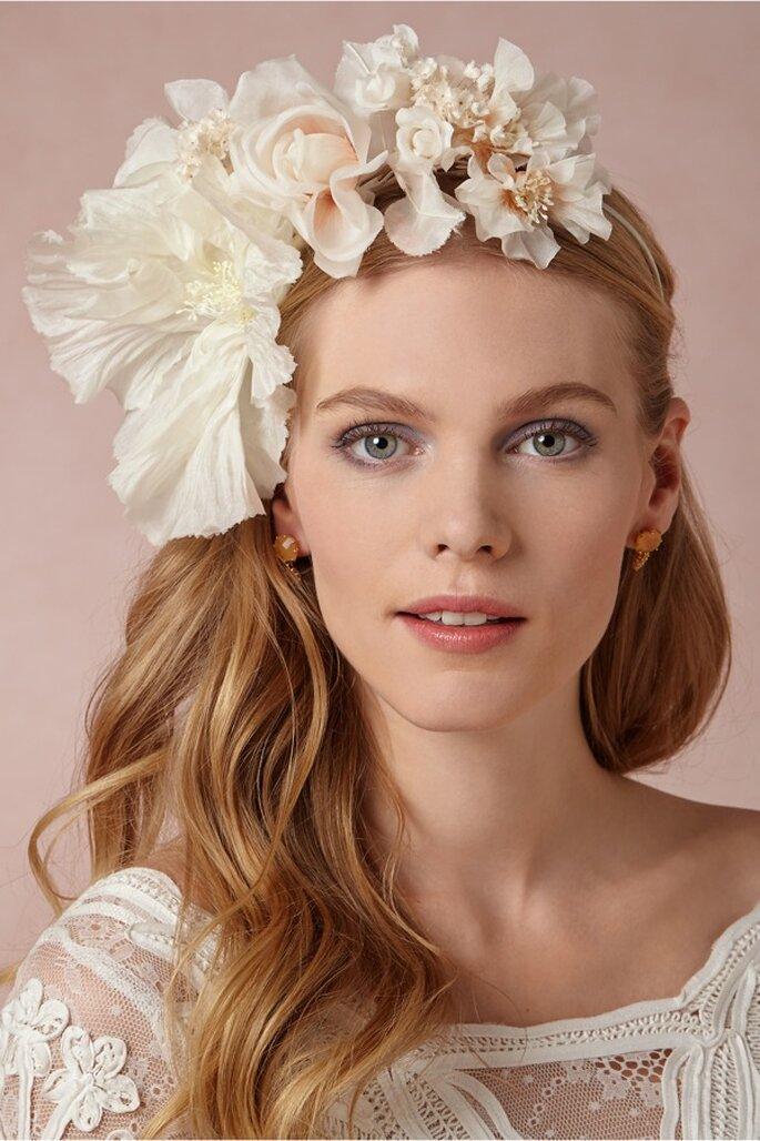 Balerina para novia con flores sobredimensionadas - Foto BHLDN