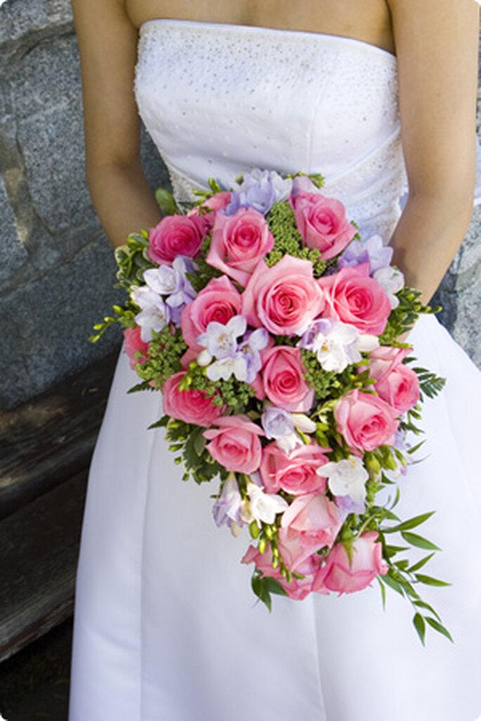 Bouquets de Noiva cascata  - blogdocasamento.com.br