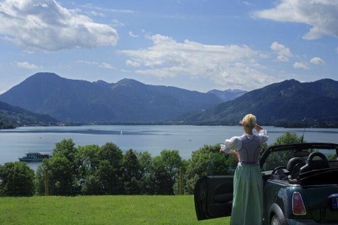 Romantisch heiraten am See  – Foto: Tegernseer Tal Tourismus GmbH
