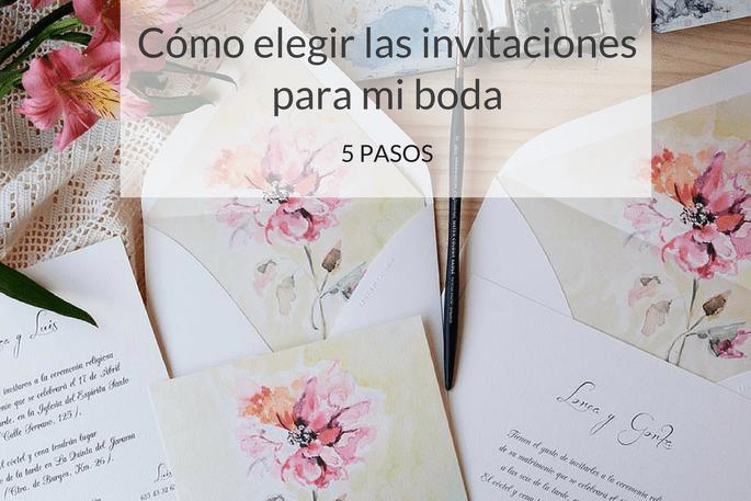 Cmo elegir las invitaciones para mi boda en 5 pasos cmo elegir las invitaciones para mi boda altavistaventures Image collections