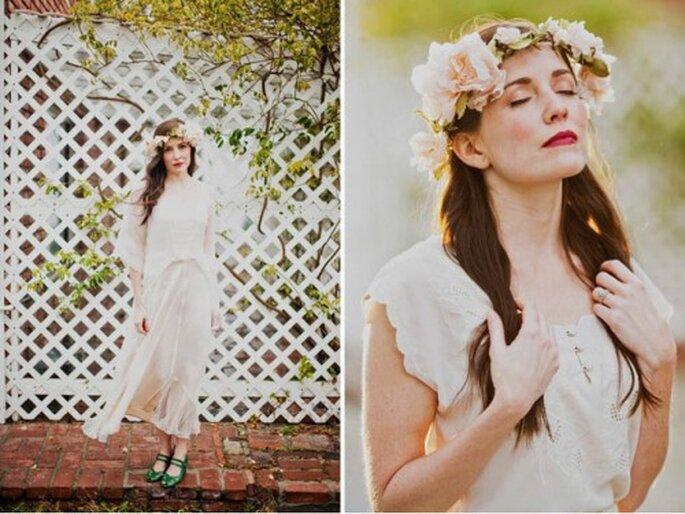 Belleza para novias - Foto: Green Wedding Shoes