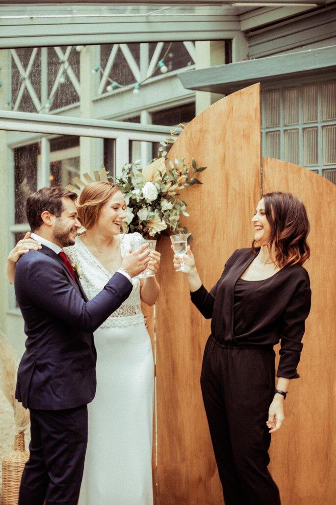 Mariage réussi grâce à l'organisation d'une wedding planner