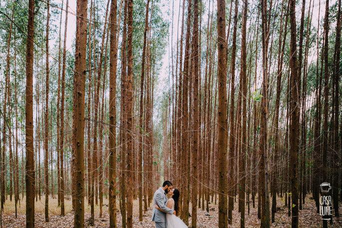 Momentos que transmitem o sentimento dos noivos