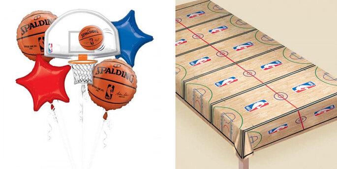 Bouquet 5 globos Spalding NBA 5 pz
