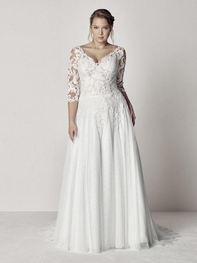 vestidos de novia para gorditas. los mejores diseños para lucir tu