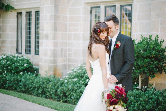 Glückliches Paar am grossen Tag- Foto Zankyou Flickr