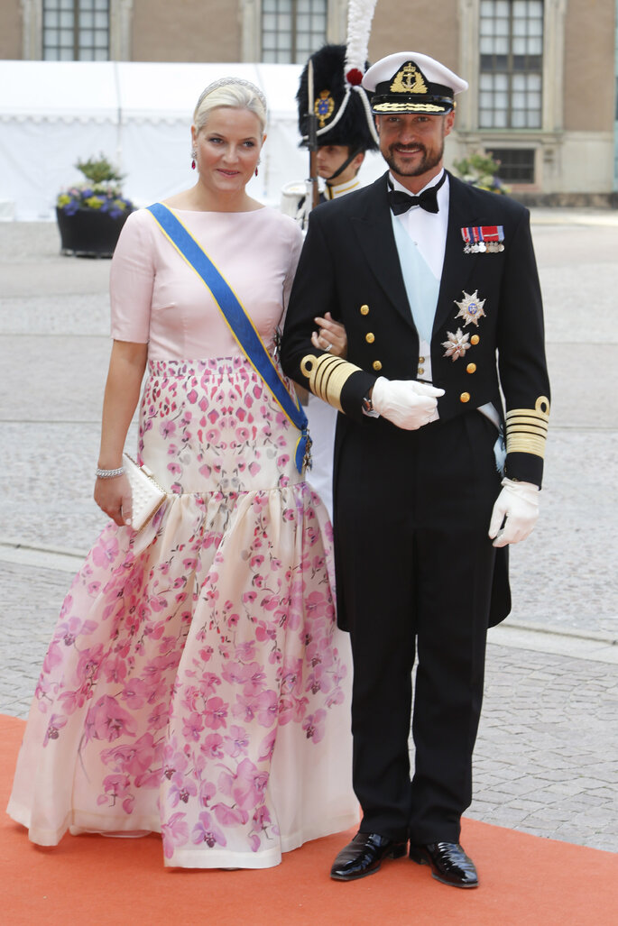 Príncipes Haakok y Mette-Marit de Noruega. Photo: Gtres Online