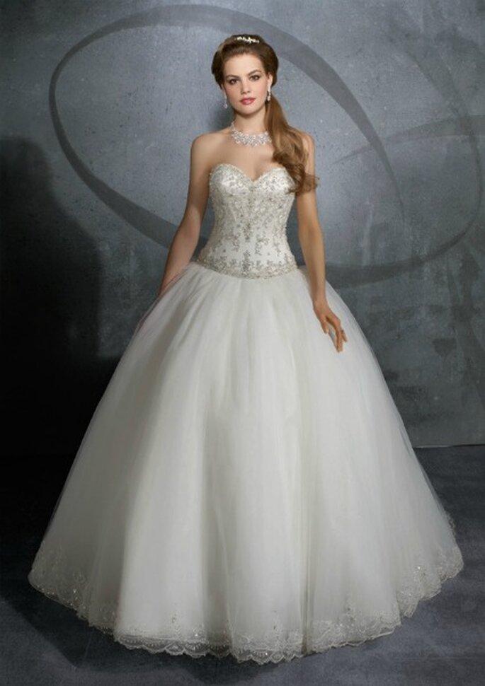 Vestido de princesa, Mori Lee 2012