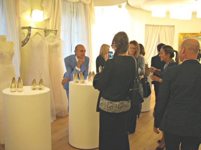 Enzo Miccio presenta la sua nuova collezione 2015 di Bridal Luxury Shoes