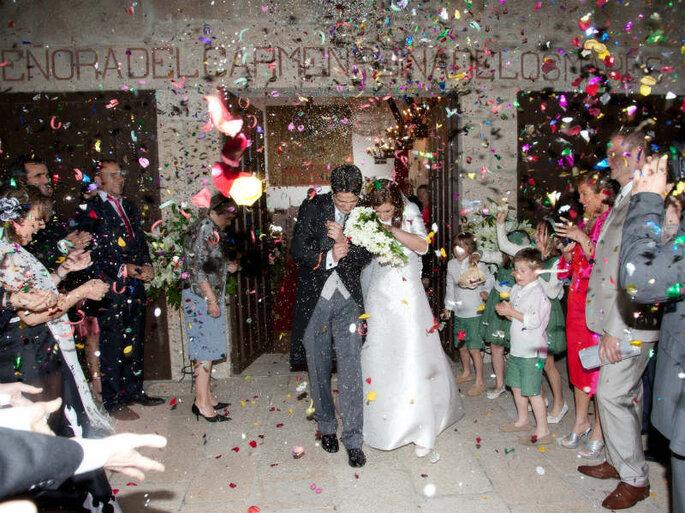 A wedding in the Parador de Baiona, Spain