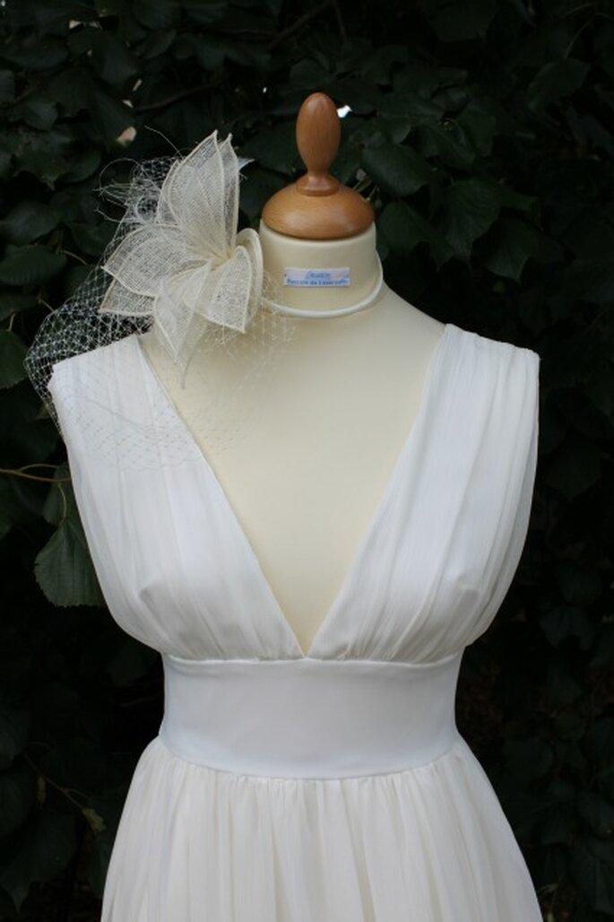 Robe de mariée sur mesure Pascale de Lavernette 2014 - Modèle : Jade