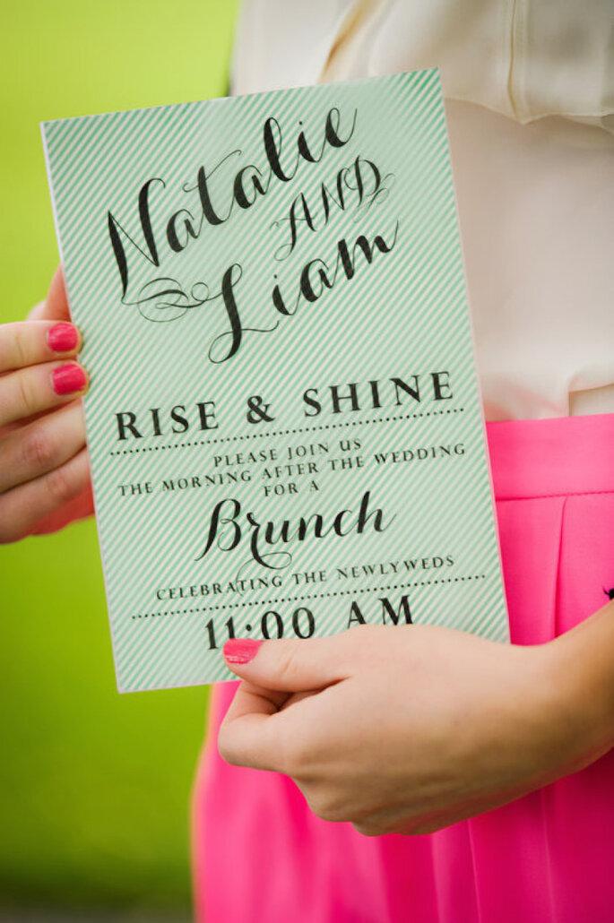 Tu boda al estilo desayuno - Caroline Rentzel Photography