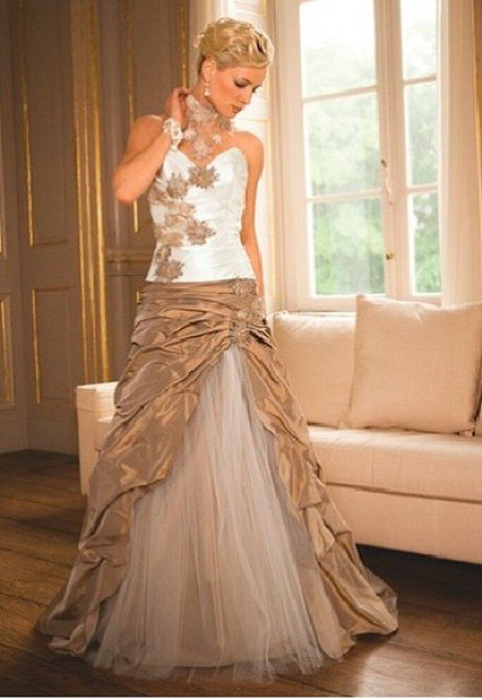 Brautkleider in Cappuccino – einfach heiß! | Brautkleider ...