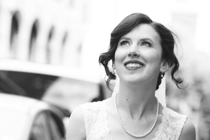 Lisa Bolognani - sposa bianco e nero