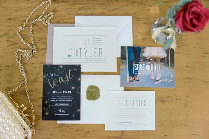 Los 9 mandamientos de las invitaciones de boda perfectas - Emily Steffen